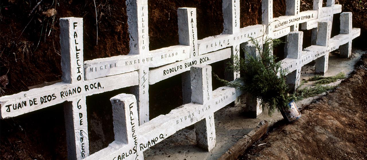 Victims of Jan 6, 1982 massacre, Choatalúm, Chimaltenango