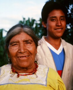 Diego and his grandmother